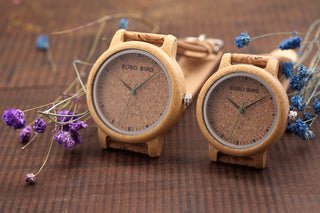 Couple Wooden Casual Quartz Watch