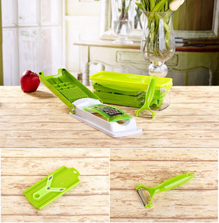 Multi functional 12 PCS  Vegetable/Fruit Dicer Set