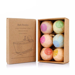 Stress Relief Exfoliating Handmade Organic  Bath Balls With Salts And Essential Oils