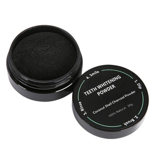 Coconut Shells Activated Charcoal Teeth Whitening Powder