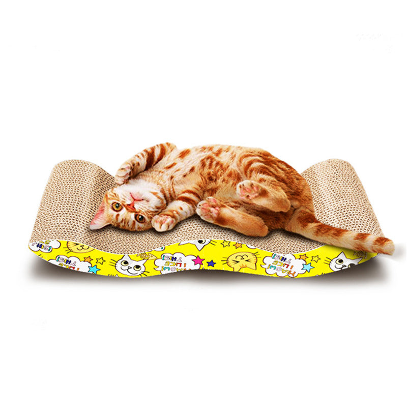 Lounge Shaped Corrugated Paper Pad  Cat Scratch Board/ Pad