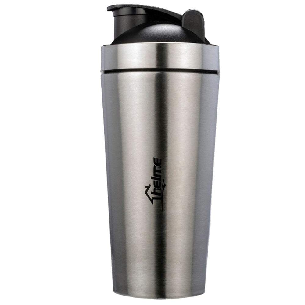 Stainless steel protein powder shaker blender