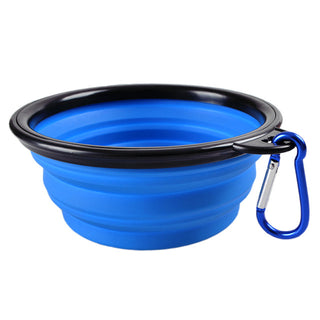 Collapsible/ Portable Silicone Pet Feeding Containers