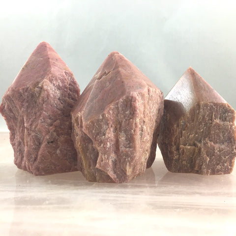 RHODONITE POINTS