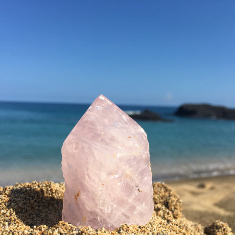 beautiful Rose quartz