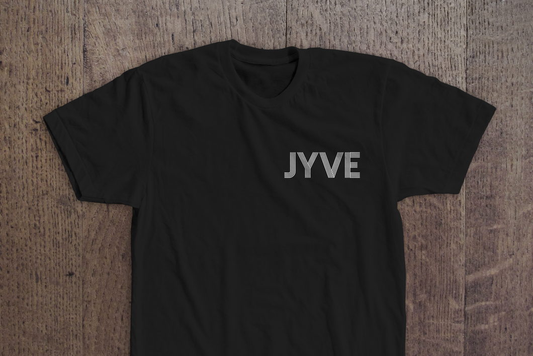 Jyve Pocket Logo Tee [Black]
