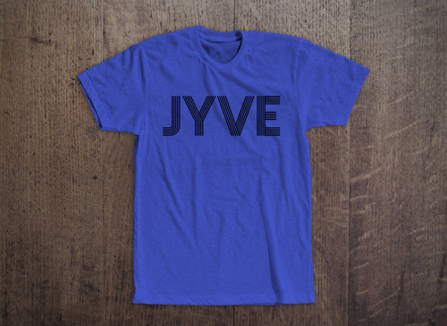 Jyve Logo Tee [Royal Heather]