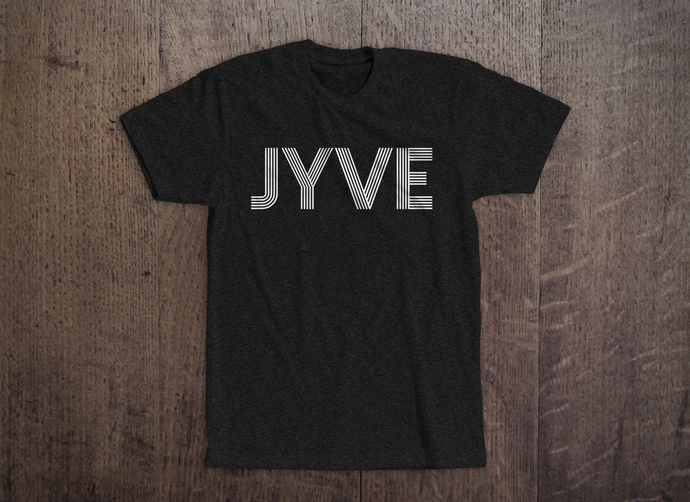 Jyve Logo Tee [Charcoal Heather]