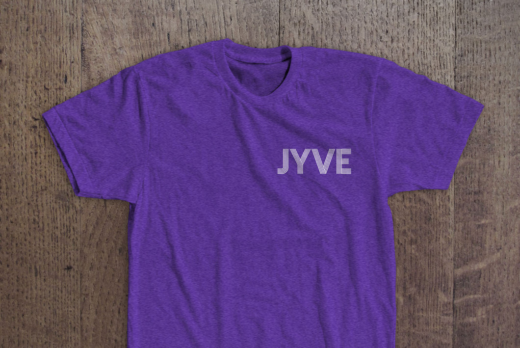 Jyve Pocket Logo Tee [Purple Heather]