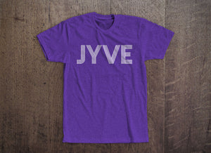 Jyve Logo Tee [Purple Heather]