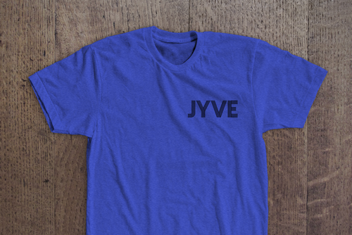 Jyve Pocket Logo Tee [Royal Heather]