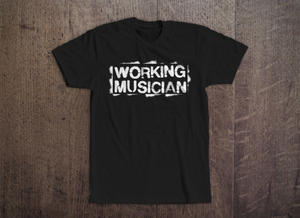 Working Musician Tee [Black]