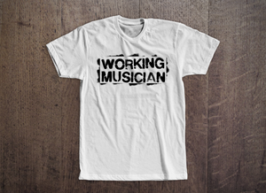 Working Musician Tee [White]