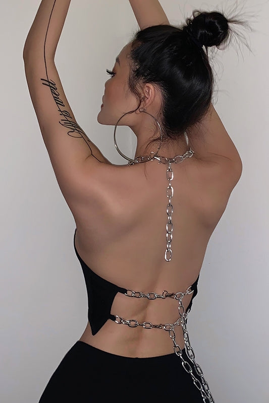 Chain link top