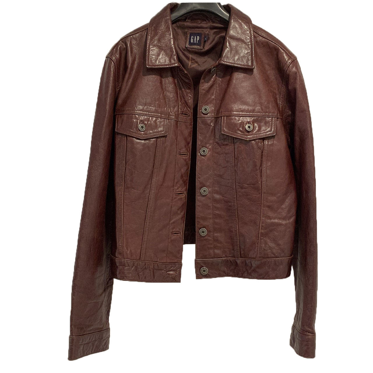 90'S GAP CHOCO BROWN LEATHER