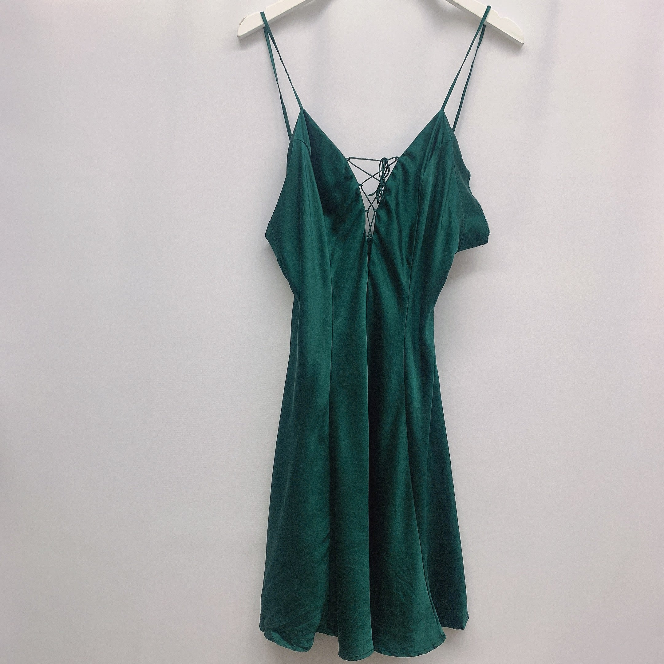 EMERALD SLIP DRESS
