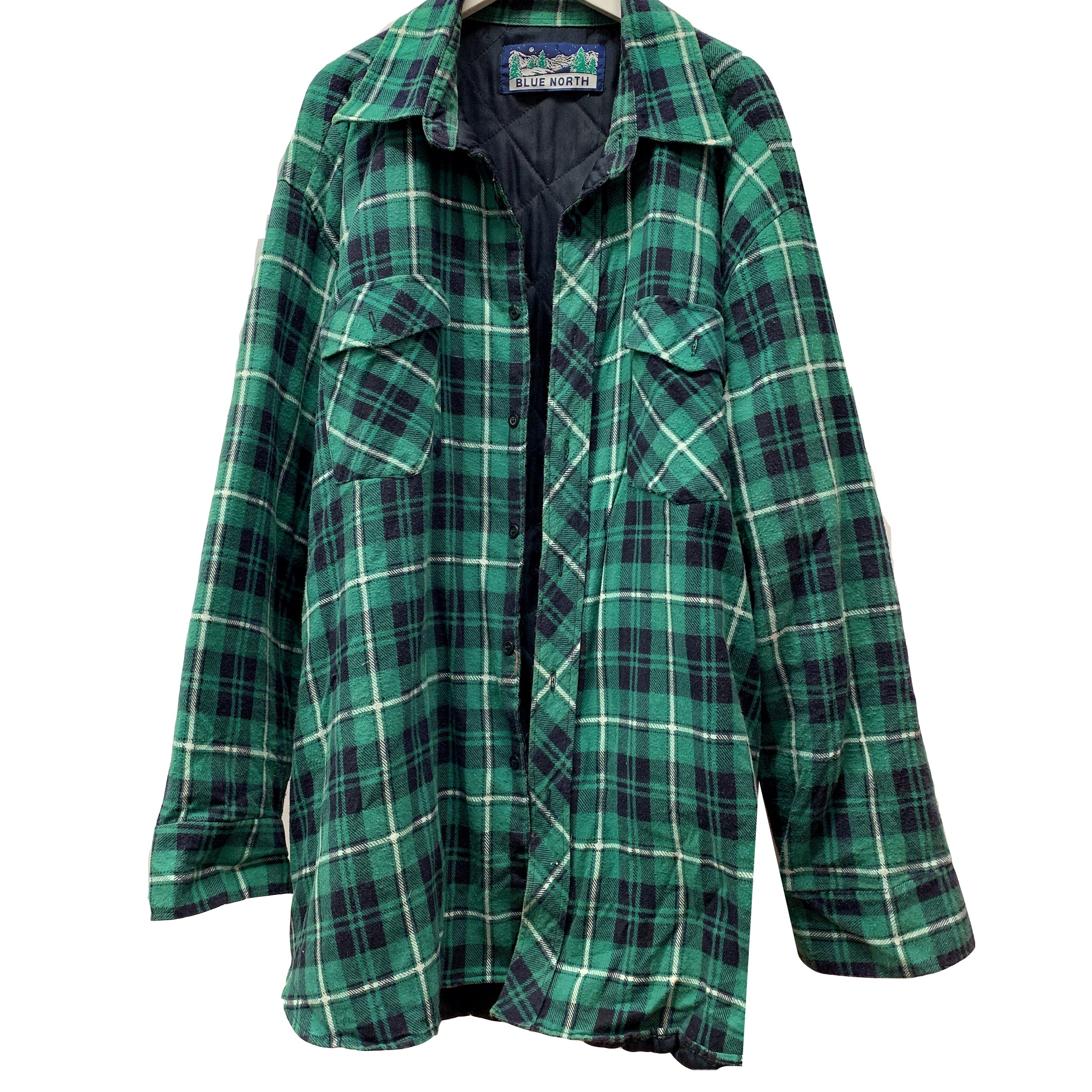 BLUE NORTH FLANNEL