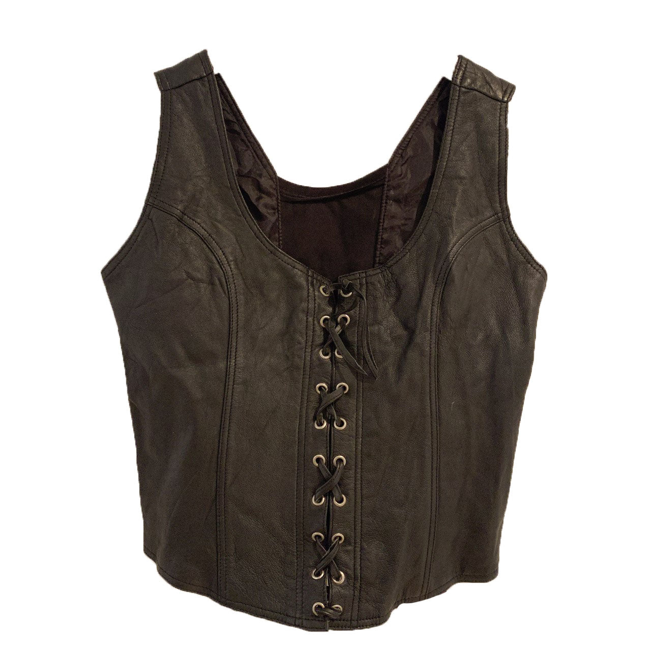 Deadstock - Just US leather bustier