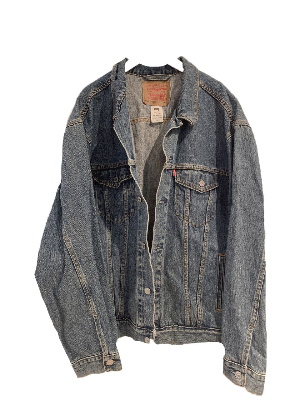Levis original denim jacket