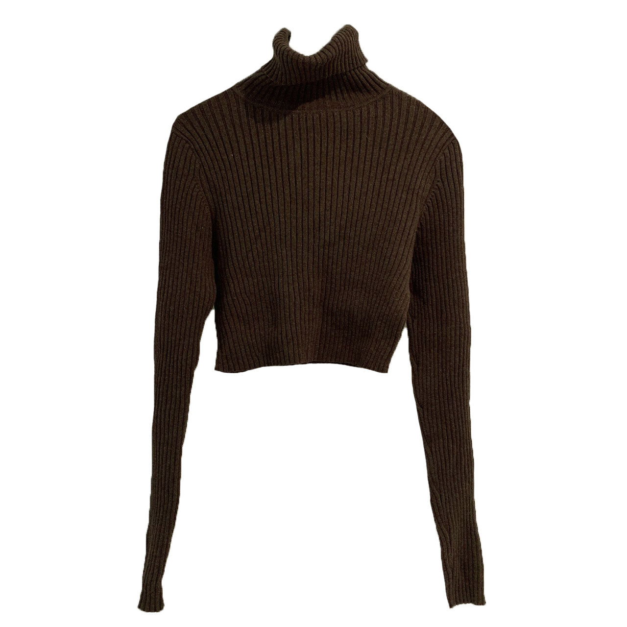 Choco ribbed turtleneck