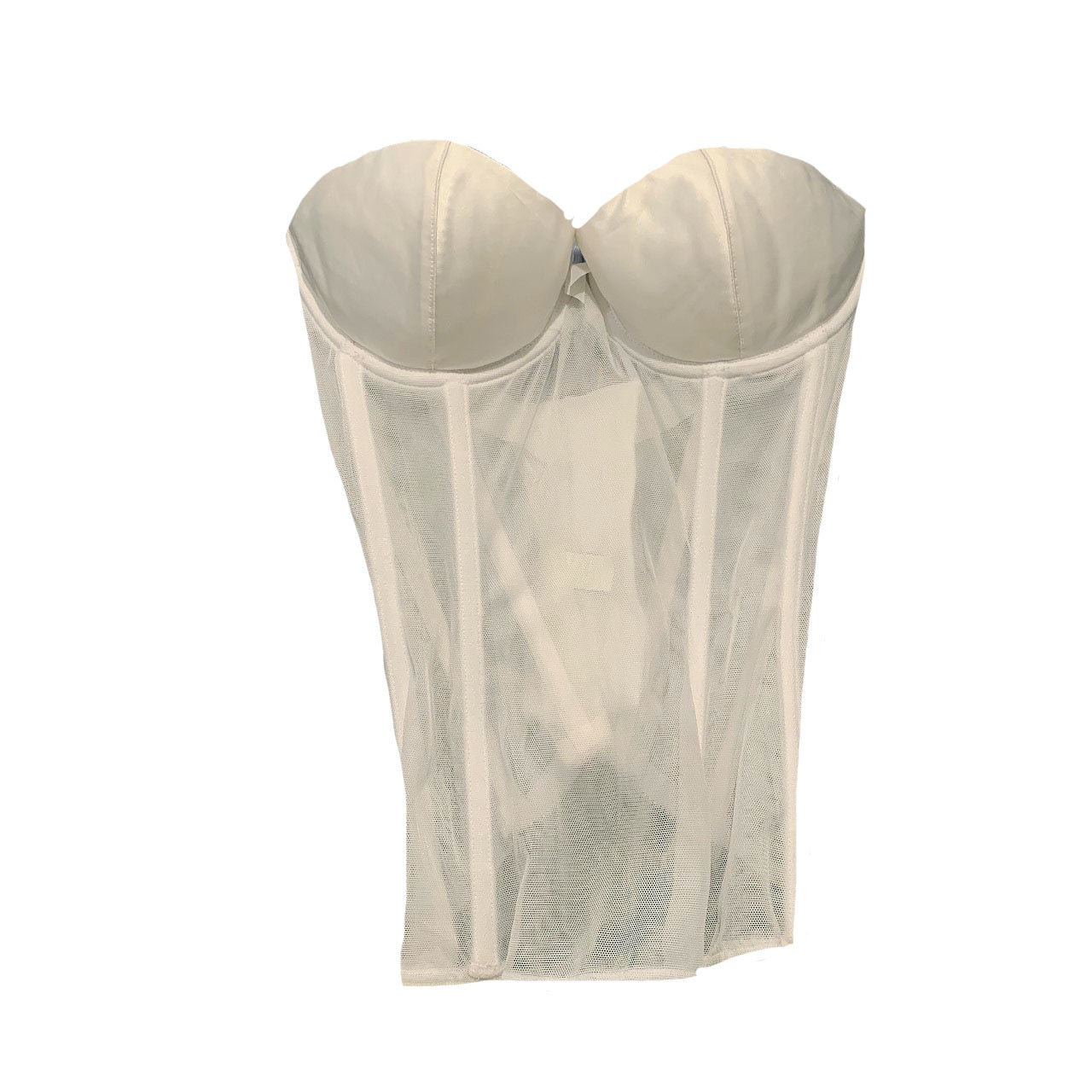 PM  sheer bustier