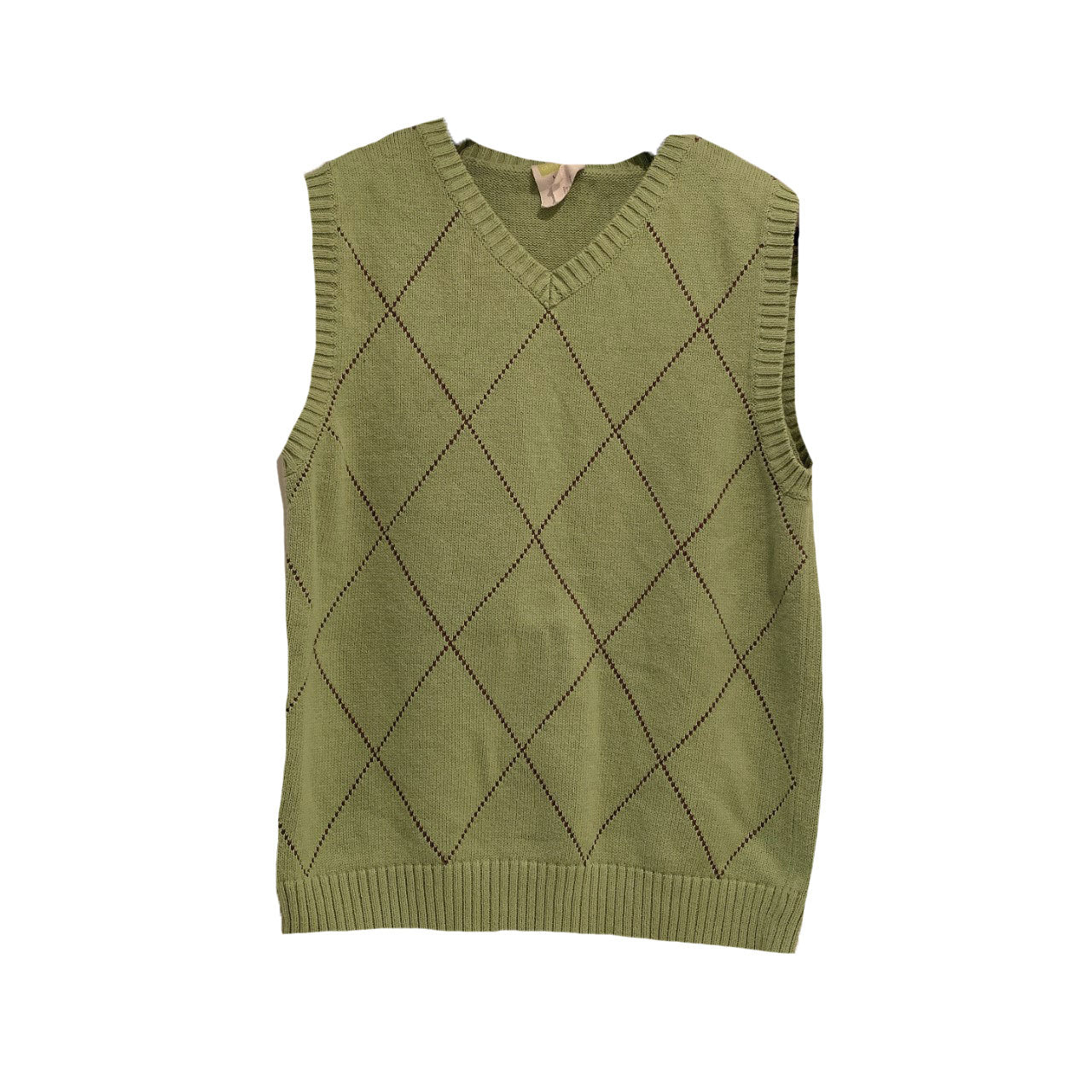 Pistachio green sweater vest