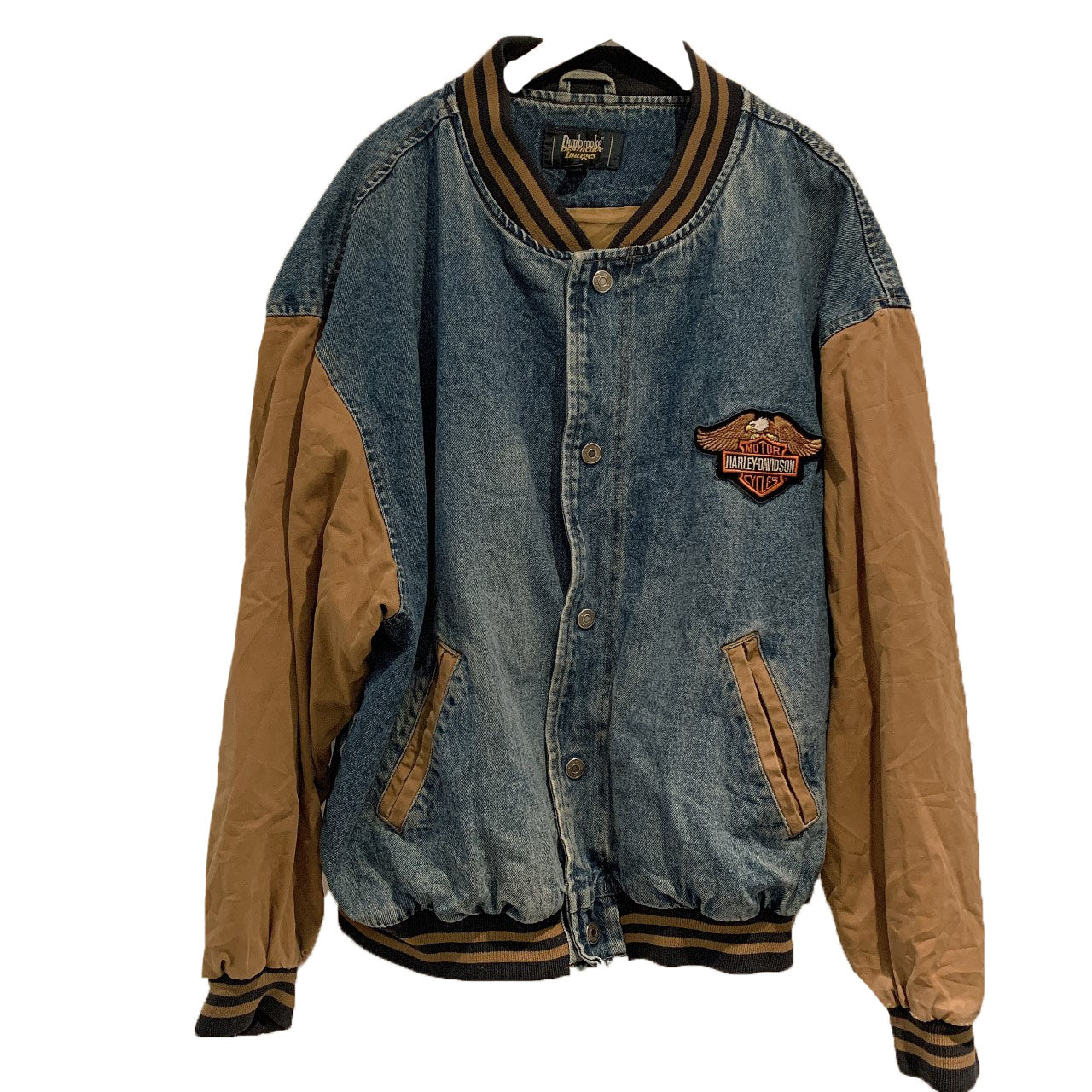 Harley Davidson -DENIM MIX BOMBER