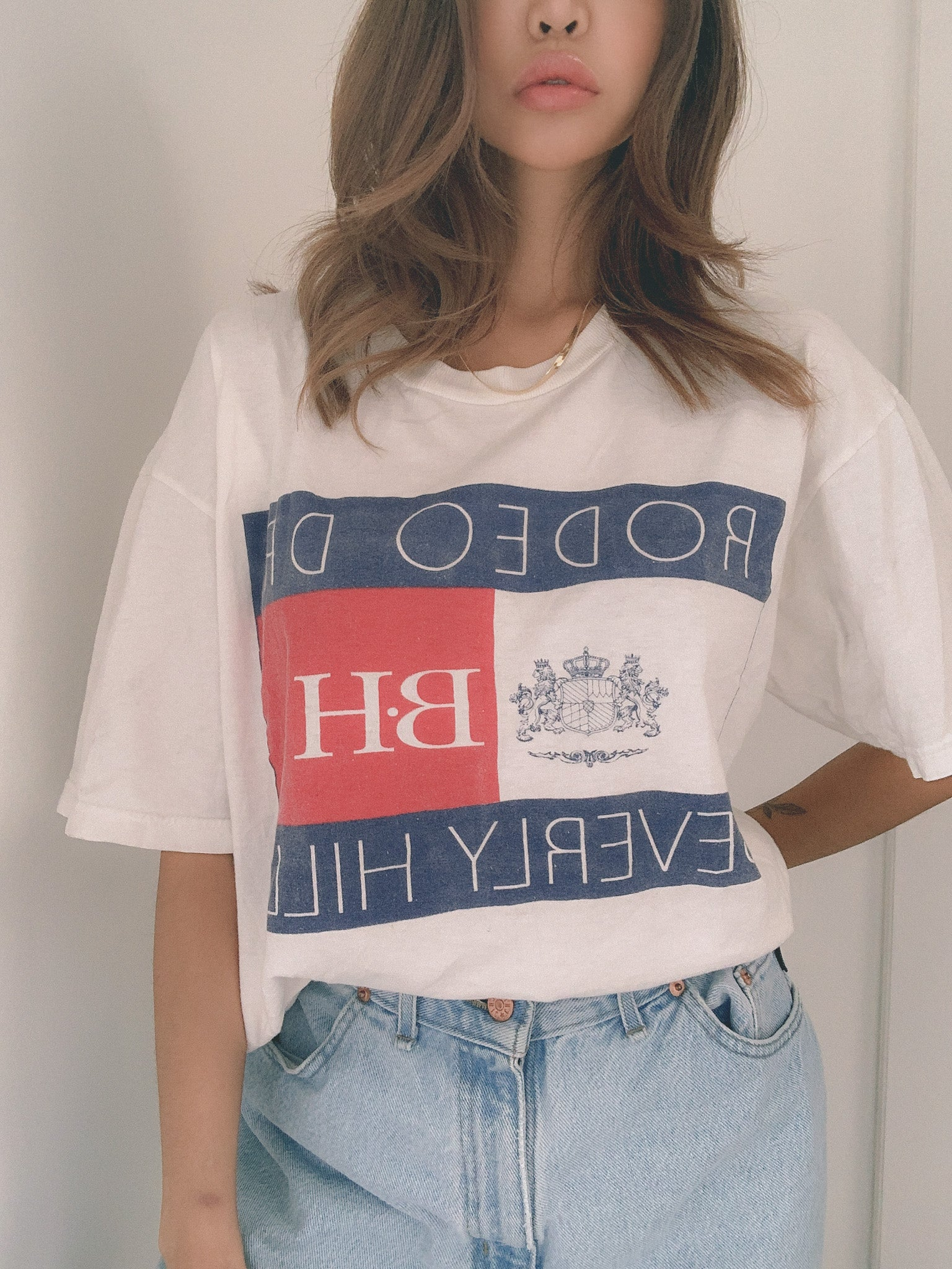 Rodeo drive Beverly Hills -90's tourist tee