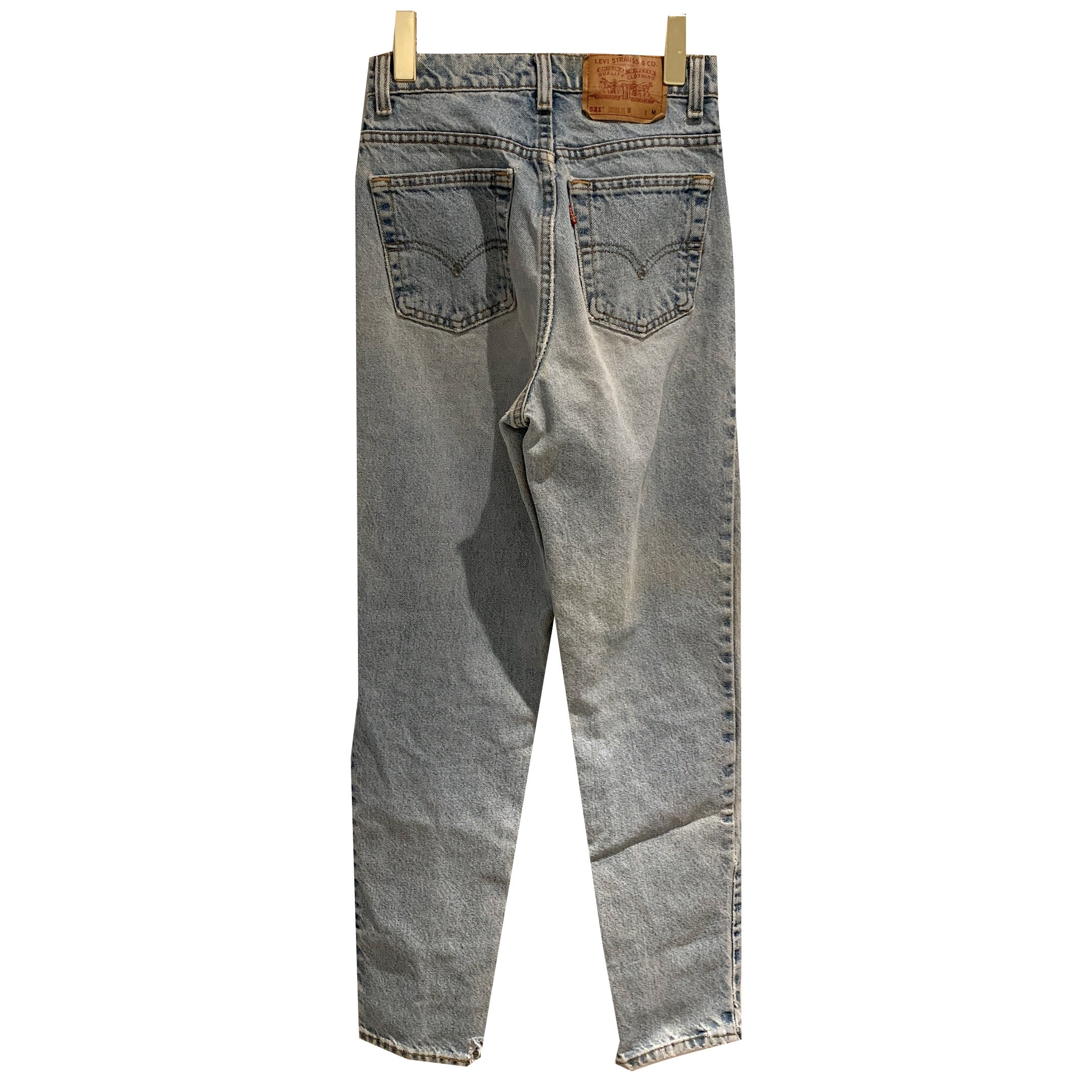 Levi's light wash tapered fit