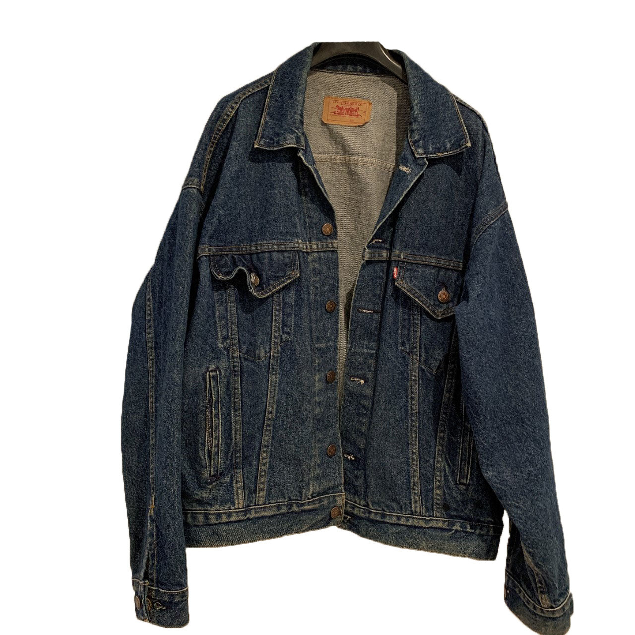 LEVIS DRK DENIM JACKET