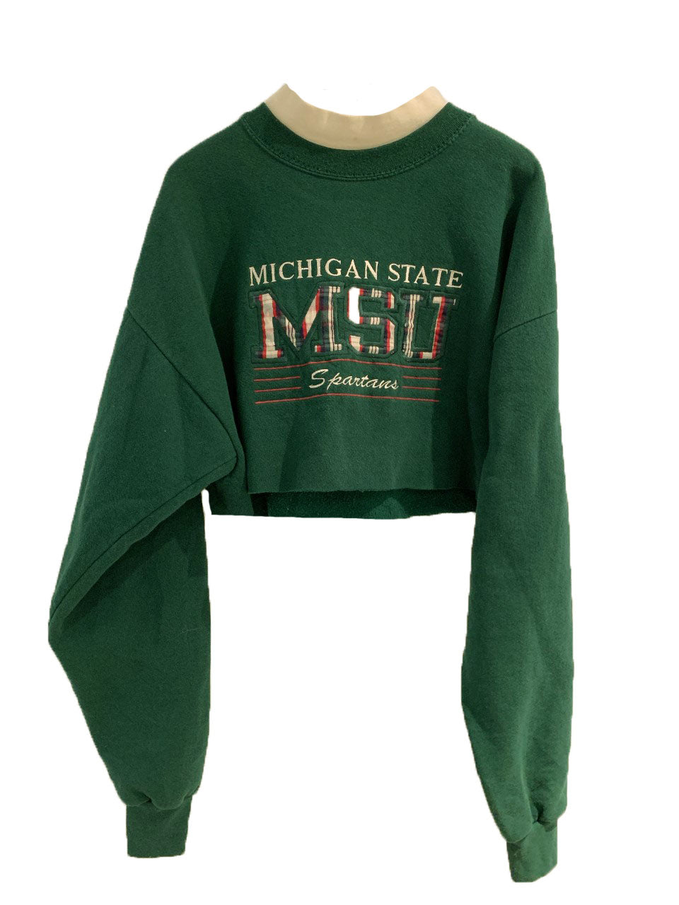 MICHIGAN STATE MOCK NECK CREW