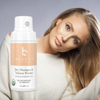 Organic Dry Shampoo – Light