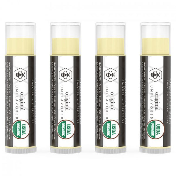 Organic Unflavored Lip Balm