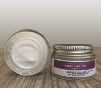 Whipped squalane face & eye mousse
