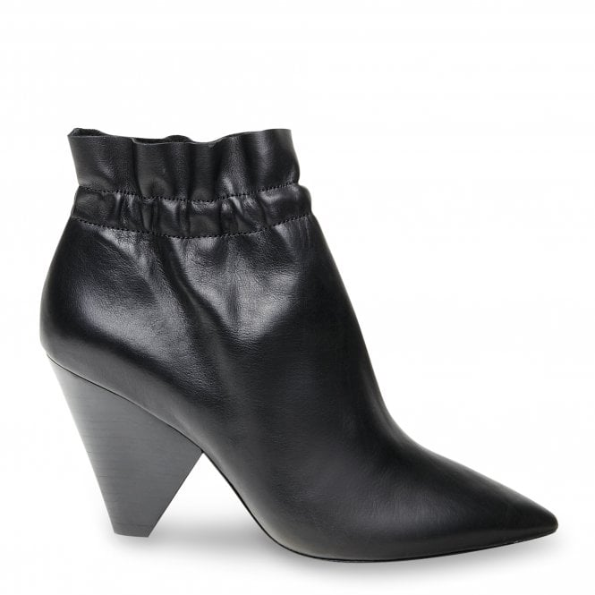 ASH DAFNE Ankle Boots Black Leather