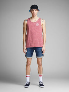 Jack & Jones Cion Blue Denim Shorts