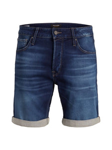 Jack Jones Blue Denim Shorts