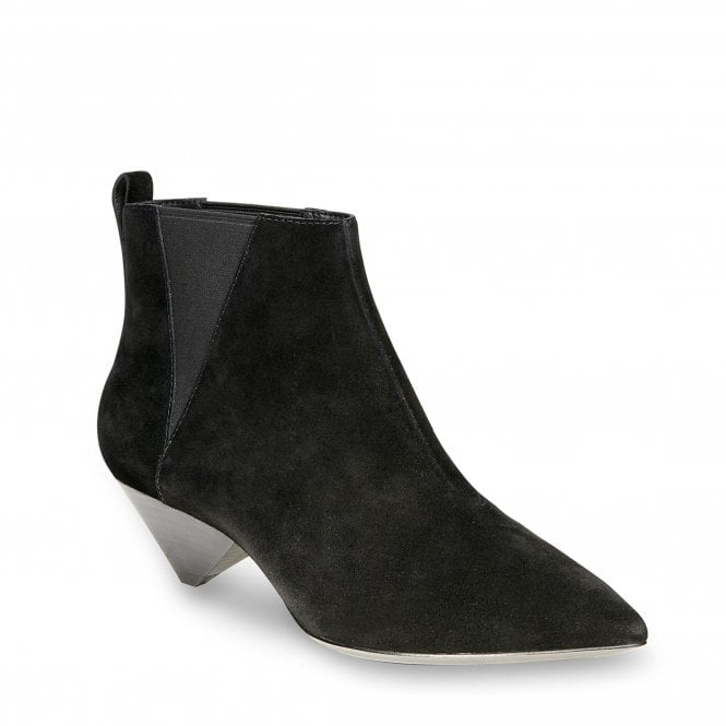 ASH Cosmos Black Suede Ankle Boot