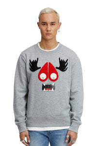 Moose Knuckles Munster Jumper- Grey