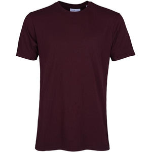 Colorful Standard - Classic Organic Tee - Oxblood Red