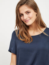 Vila Vimelli Navy Blue Blouse
