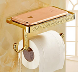 *LIMITED EDITION - Gold Toilet Roll Holder #201815