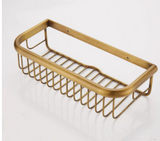 Brass Bathroom Shower Basket #201830