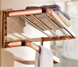 Rose Gold Bath Towel Rack #201920