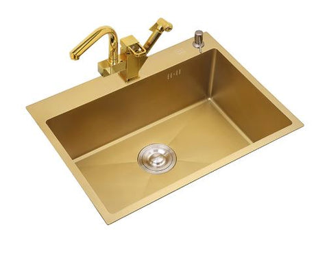 Gold Kitchen Sink #1601