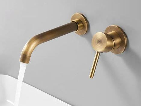 Modern Brass Bathroom Set #201888