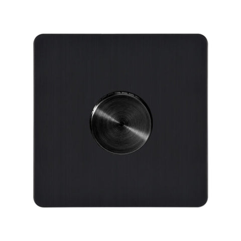 Antique Black Metal Dimmer Wall Switch