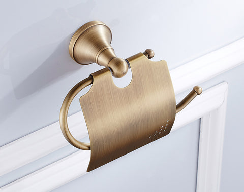 Toilet Roll Holder Brass #20181