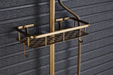Wall Mounted Shower - Antique Brass Finish #201717