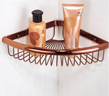 Rose Gold Bathroom Corner Shelf #201922